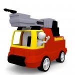 3D Model Feuerwehrauto